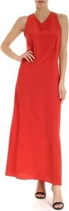 Czerwona sukienka Aspesi maxi