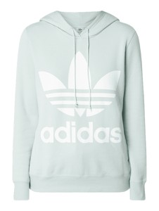 Miętowa bluza Adidas Originals