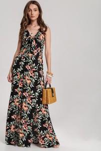 Sukienka Renee z dekoltem w kształcie litery v maxi w stylu boho