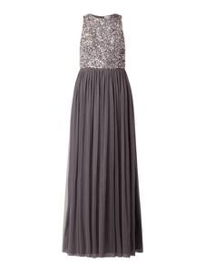 Sukienka Lace & Beads trapezowa maxi bez rękawów