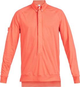 Pomarańczowa koszulka z długim rękawem Robert Kupisz z długim rękawem