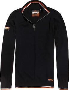 Czarny sweter Superdry