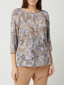 Bluzka Betty Barclay w stylu casual z okrągłym dekoltem