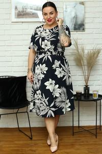 Sukienka KARKO z długim rękawem w stylu casual