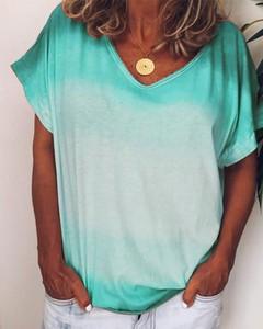 T-shirt Kendallme z bawełny z krótkim rękawem