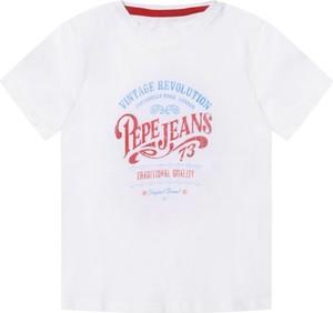 Koszulka dziecięca Pepe Jeans z krótkim rękawem