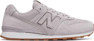 Różowe buty sportowe New Balance z płaską podeszwą