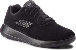Czarne buty sportowe Skechers z zamszu