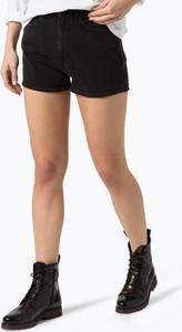 Calvin klein jeans - damskie krótkie spodenki jeansowe, czarny