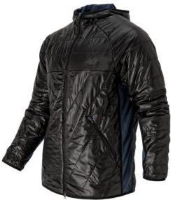 Czarna kurtka New Balance w stylu glamour