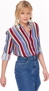 b36ec172597f66 koszula z dłuższym tyłem - stylowo i modnie z Allani