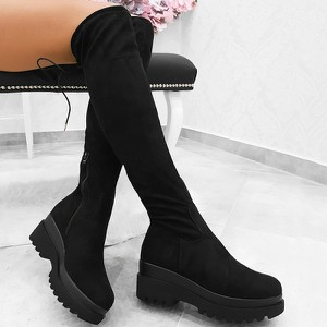 894a8cf43a564 modne buty kozaki - stylowo i modnie z Allani