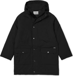 Czarna kurtka Carhartt WIP z bawełny