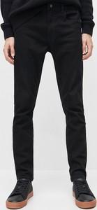 Czarne jeansy Reserved z jeansu