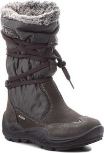 Buty dziecięce zimowe Primigi z zamszu