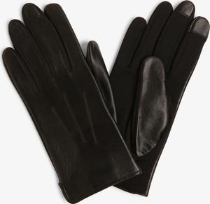 Czarne rękawiczki Otto Kessler