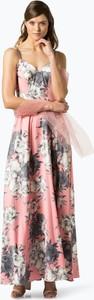Różowa sukienka Unique w stylu boho
