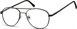 Sunoptic Okulary oprawki dziecięce zerówki Pilotki MK3-47 czarne