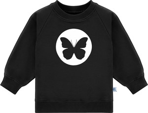 Czarna bluza dziecięca Tuszyte z bawełny