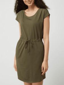 Sukienka Vero Moda z krótkim rękawem w stylu casual z bawełny