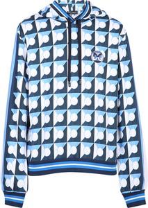 Niebieska bluza Dolce & Gabbana z bawełny