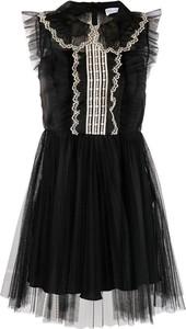Czarna sukienka Red Valentino mini