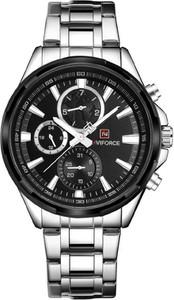 ZEGAREK MĘSKI NAVIFORCE - NF9089 (zn065c) - silver/black - Srebrny