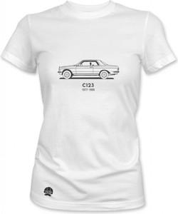 T-shirt sklep.klasykami.pl z krótkim rękawem z bawełny z nadrukiem
