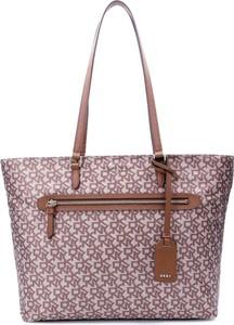 Różowa torebka DKNY