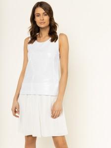 Sukienka Trussardi Jeans bez rękawów w stylu casual mini