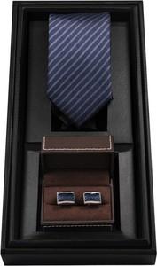 Niebieski krawat Borgio