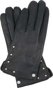 Czarne rękawiczki Armani Jeans