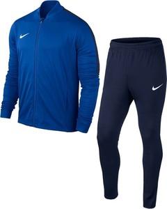 Niebieski dres Nike z dresówki