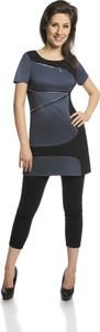 Tunika Fokus z tkaniny w stylu casual