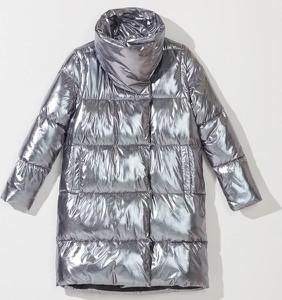 Srebrny płaszcz Mohito