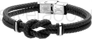 Silverado Męska bransoletka z bawełnianego sznurka z motywem marynarskim - 77-BA578B