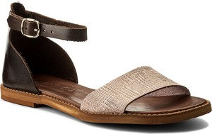 Sandały nessi ze skóry