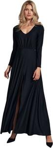 Sukienka Figl z dekoltem w kształcie litery v maxi