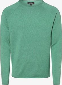 Zielony sweter Nils Sundström z dzianiny