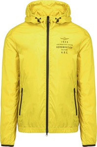 Żółta kurtka Aeronautica Militare krótka