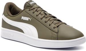 Sneakersy PUMA - Smash V2 L 365215 11 Forest Night/Puma White