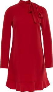 Sukienka Red Valentino z długim rękawem mini