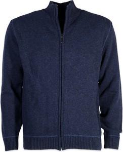 Niebieski sweter Willsoor w stylu casual