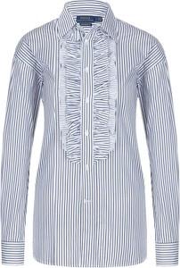 Koszula POLO RALPH LAUREN z kołnierzykiem w stylu casual z tkaniny