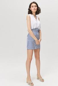Niebieska spódnica FEMESTAGE Eva Minge mini w stylu casual