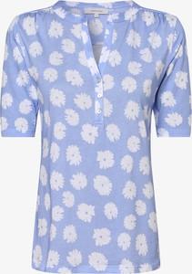 Niebieski t-shirt Apriori z krótkim rękawem