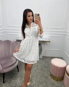 Sukienka Paris mini z dekoltem w kształcie litery v