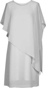 Sukienka Fokus z okrągłym dekoltem z krótkim rękawem mini