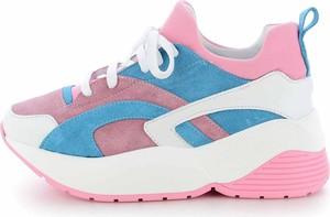 Sneakersy Prima Moda z płaską podeszwą