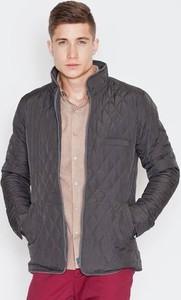 Brązowa kurtka VISENT w stylu casual